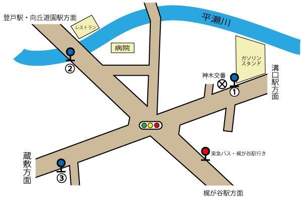 神木本町バス停