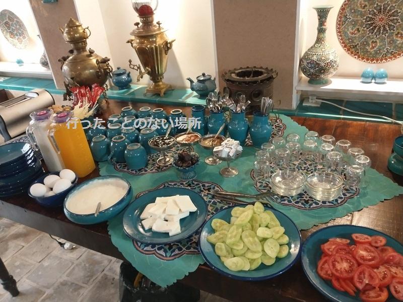 【イラン旅行】イランの朝ごはんがとっても素敵♪
