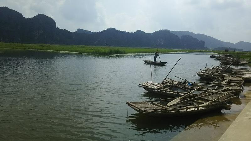 ベトナム ニンビン紀行 ヴァンロンでのんびりボートクルーズ