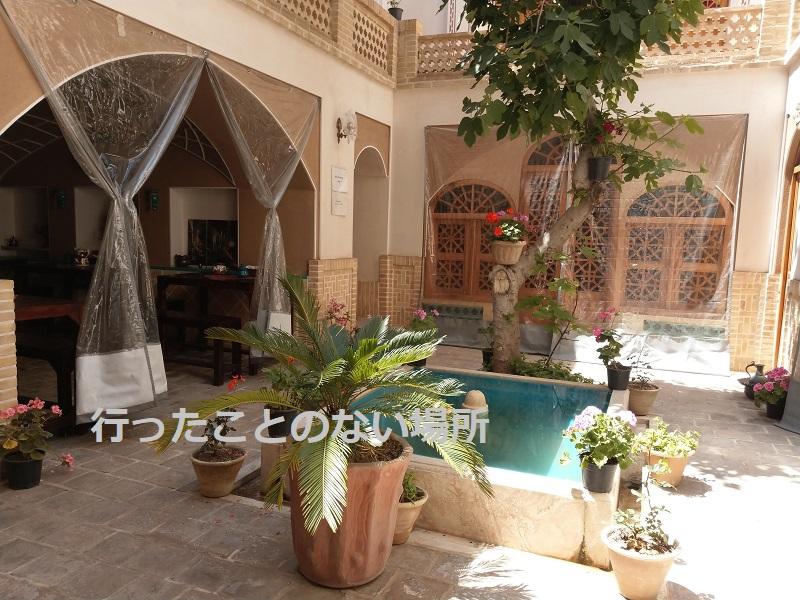 【イラン旅行】カーシャーンで宿泊したNoh Cham Boutique Hotelがステキだった♪