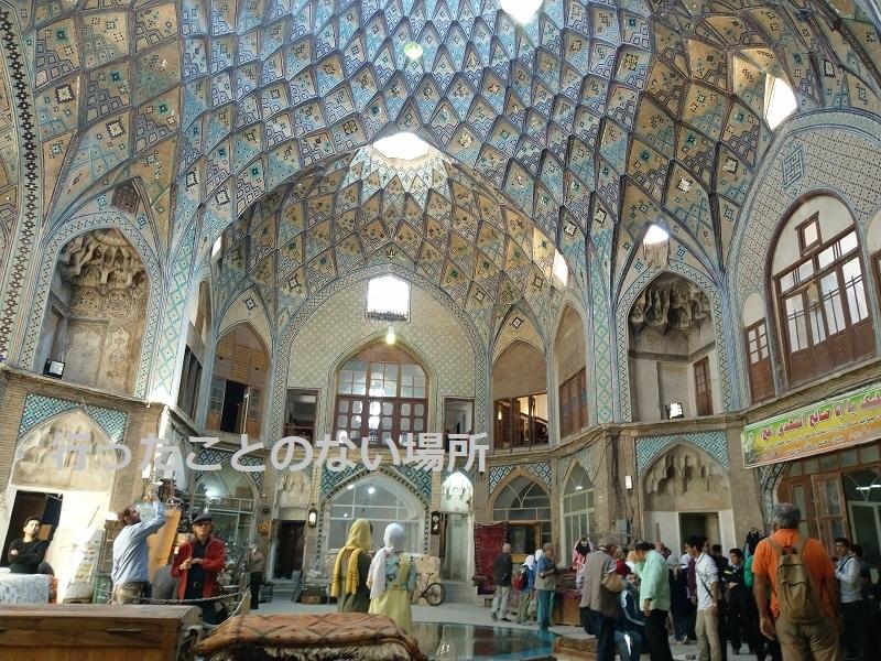 【イラン旅行】カーシャーンのバザールの美しさにうっとり……