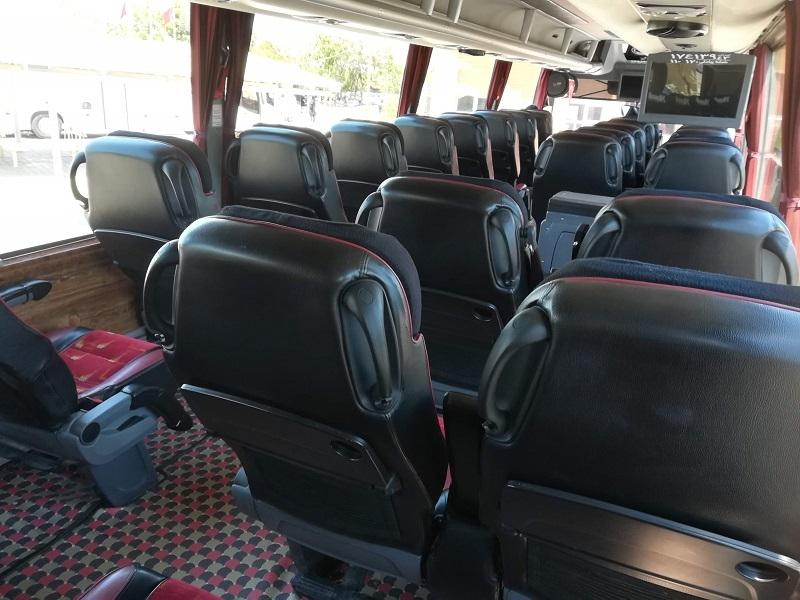 【イラン旅行】カーシャーンからエスファハンへバス移動
